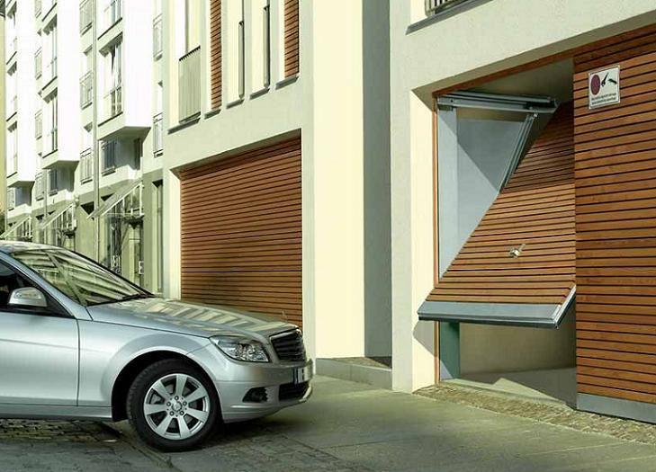 Изображение для категории Ворота для коллективных гаражей