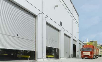 Изображение для категории Промышленные рулонные ворота