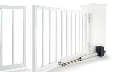 Изображение Комплект автоматики для распашных ворот RotaMatic Akku 2 с солнечной батареей, BS. Арт. 4510993