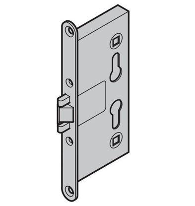 Изображение Врезной замок для двери MZ (HRUS 30, H85) Арт.31879