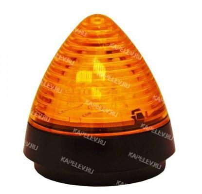 Изображение Светодиодная сигнальная лампа желтого цвета. Арт. 436516