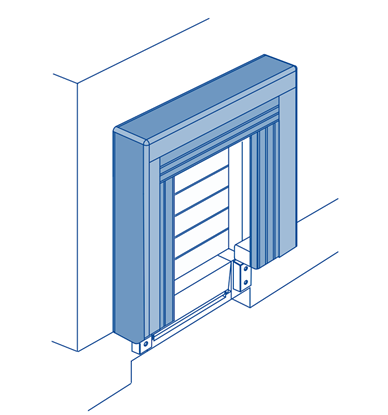 Изображение Надувной герметизатор ворот DAS3-N 3600х3550