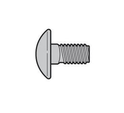 Изображение SPU Болт с полукруглой головкой М6х16 . Арт.3001431