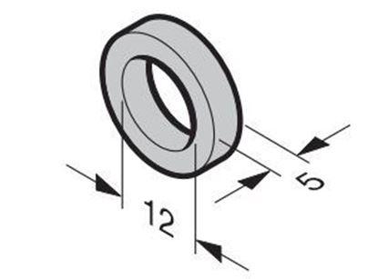 Изображение Распорное кольцо для направляющего ролика. Арт.3042465