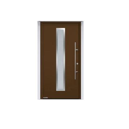 Изображение Входная дверь Thermo65 мотив 700А, цвет RAL8028, Hormann