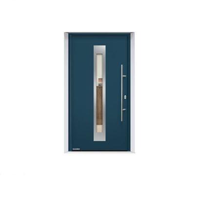 Изображение Входная дверь Thermo65 мотив 750F, цвет RAL7016, Hormann