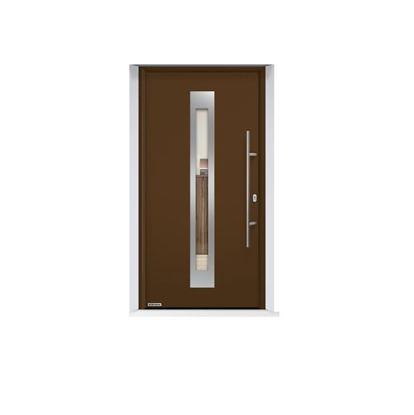 Изображение Входная дверь Thermo65 мотив 750F, цвет RAL 8028, Hormann