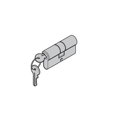 Изображение MZ H85-профильный цилиндр  вставка 35x35мм, Арт. N35x35