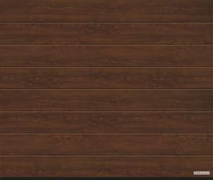 Vorota sekcionny`e LPU 42,2500x2250, DecoColor, M-gofr, Dark oak (temny`j dub). Art. 4017209